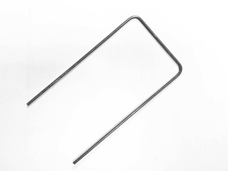 Ocelová kotvící skoba – Geopin Steel U 15x7,5 cm (100 ks v balení)