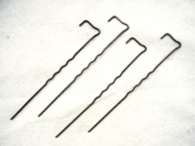 Ocelová kotvící skoba – Geopin Steel 20 cm (500 ks v balení)