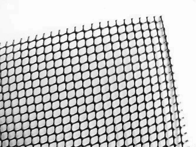 Černá plastová síť – Balconet 25x1 m