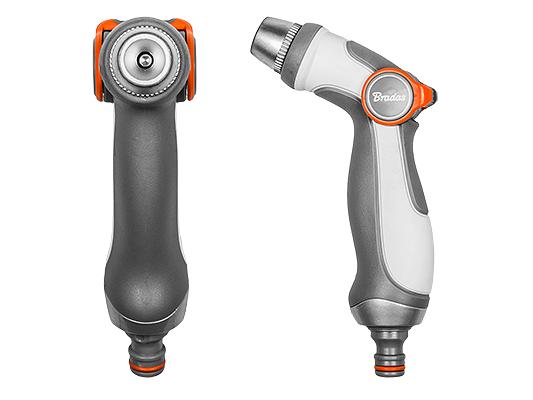 WHITE LINE – nastavitelná kovová postřikovací pistole SMOOTH CONTROL - 3 způsoby regulace toku vody
