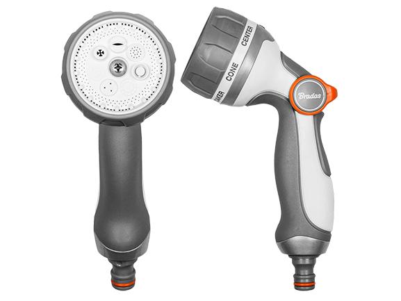 WHITE LINE – nastavitelná kovová postřikovací pistole SMOOTH CONTROL - 7 způsobů regulace toku vody